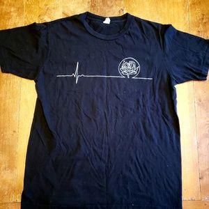 Ryan Adams concert tee shirt band show